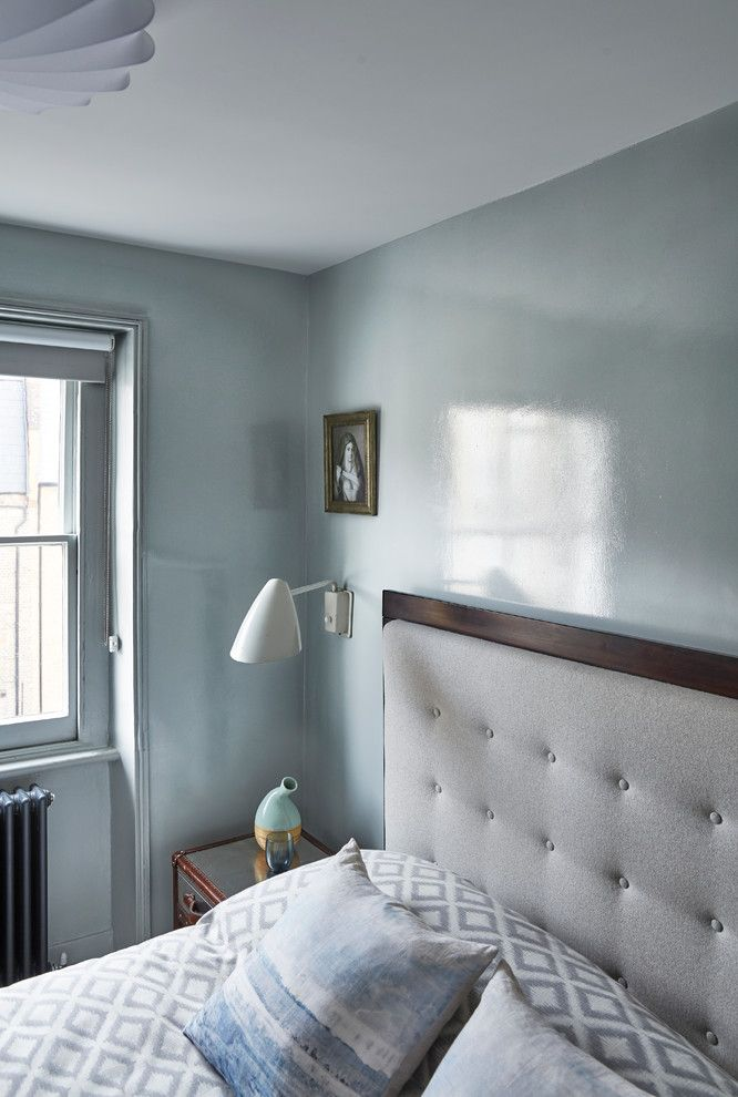 First Apartment Checklist for a Transitional Bedroom with a Cushions and London Loft Apartment by Sigmar