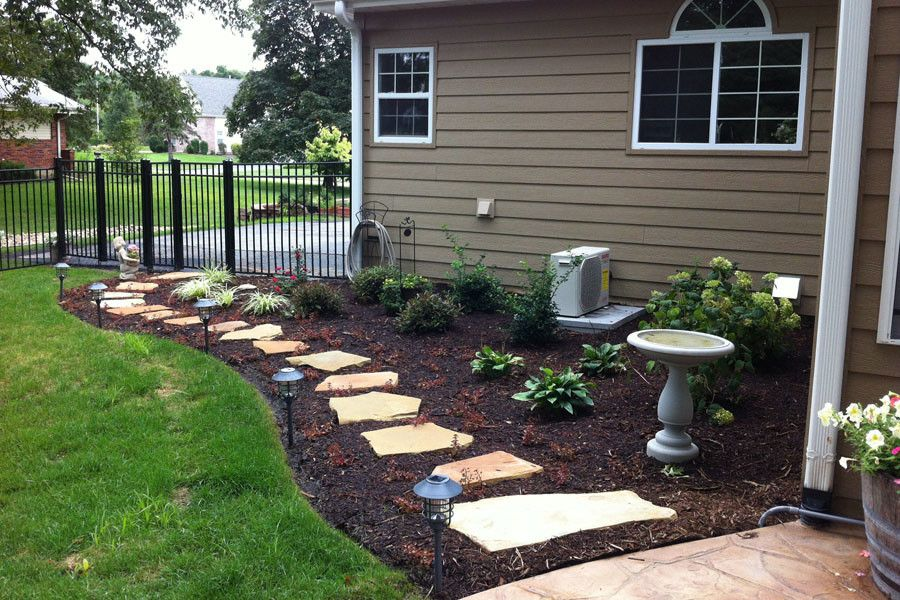 Flagstone Walkway for a Traditional Landscape with a Flagstone and Flagstone Walkway by Kf Landscapes
