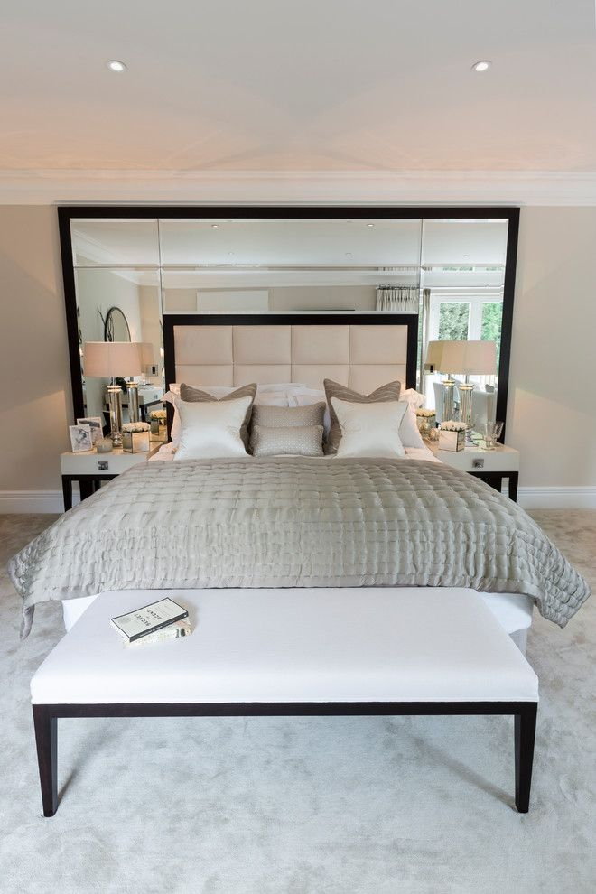 Floor and Decor Lombard for a Contemporary Bedroom with a Bedroom Carpet and Brampton by Concept Interiors