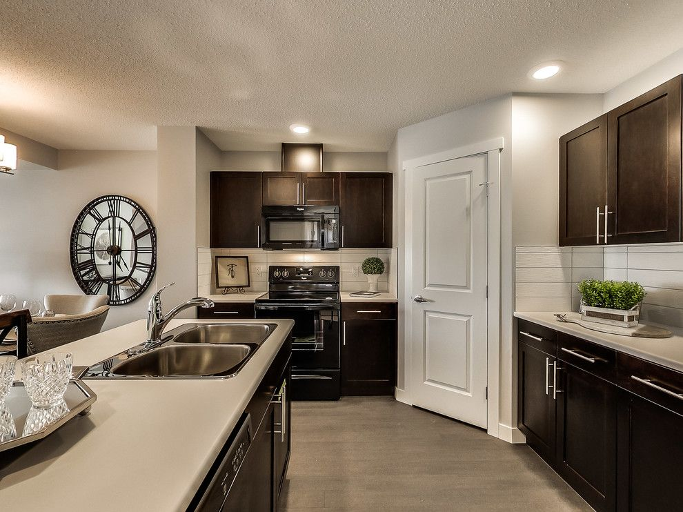 Floor and Decor Lombard for a Transitional Kitchen with a Browns and Altius Cy Becker Lombard by Streetside Developments Edmonton