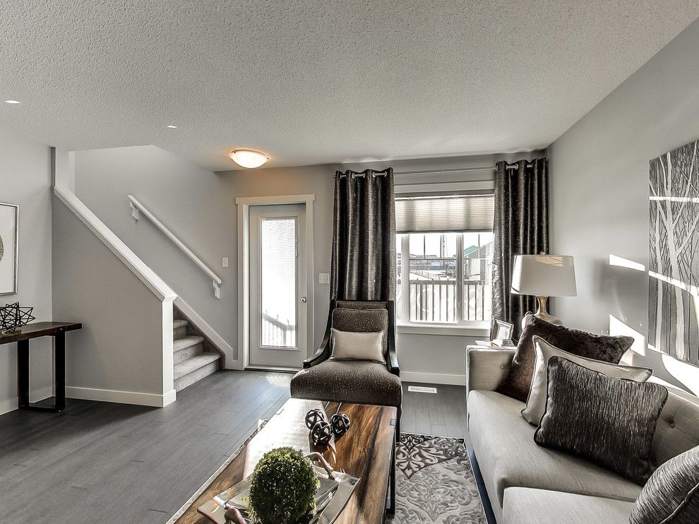 Floor and Decor Lombard for a Transitional Living Room with a Rustic and Altius Cy Becker Lombard by Streetside Developments Edmonton