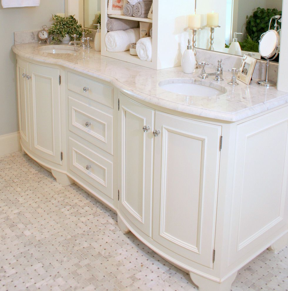Floor Trader Okc for a Traditional Bathroom with a Traditional and Sea Island Home by Golden Isles Custom Homes, Llc