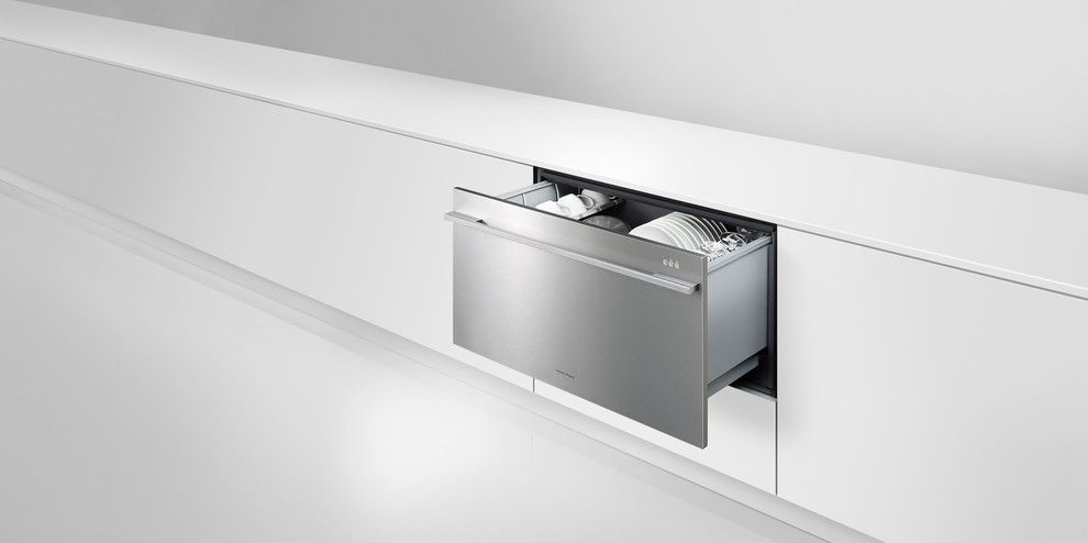 Florida Builder Appliances for a Modern Kitchen with a Fisher Paykel and Fisher Paykel by Florida Builder Appliances