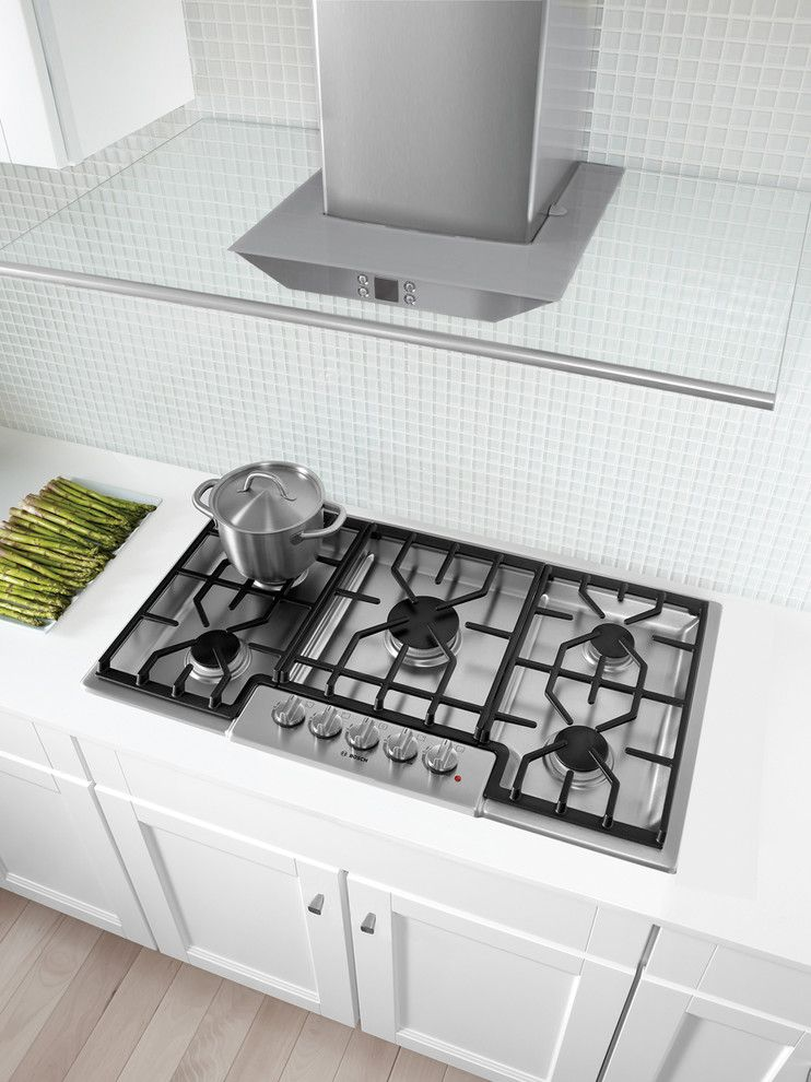 Florida Builder Appliances for a Transitional Kitchen with a Bosch Hood and Bosch Lookbook by Florida Builder Appliances