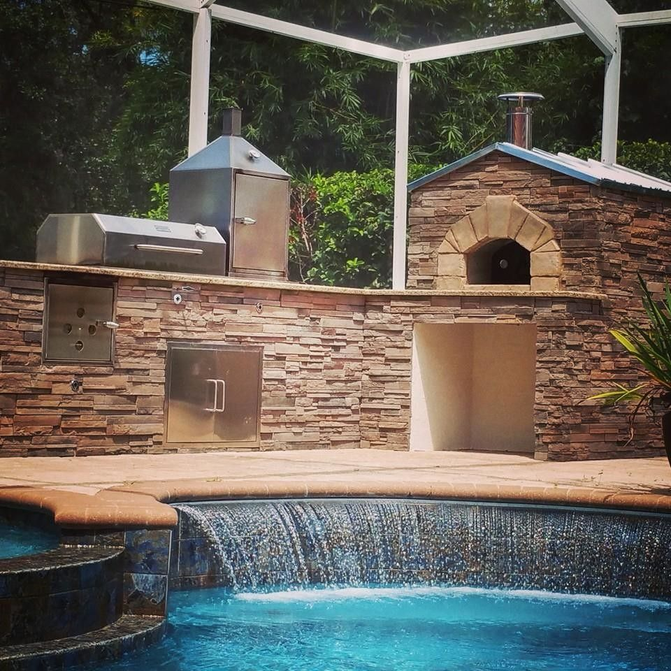 Forno Bravo for a  Spaces with a Outdoor Living and Forno Bravo Casa Wood Fire Oven Kit by Forno Bravo