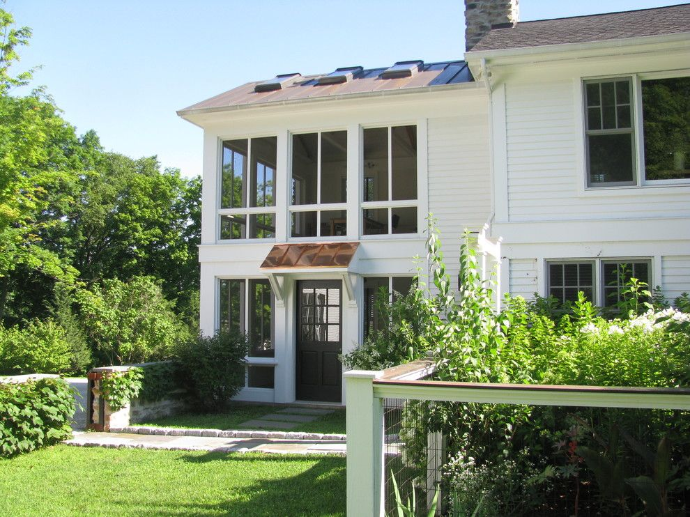 Front Porch Denver for a Contemporary Porch with a Exterior Makeover and Chatham Transformation by Flatbrook & Co