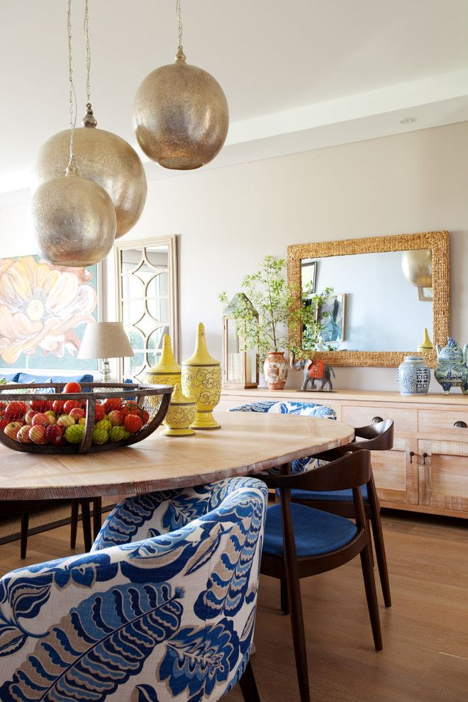 Fruit Basket Flowerland for a Eclectic Dining Room with a Wooden Furniture and Breakfast Point Apartment by as You See It!