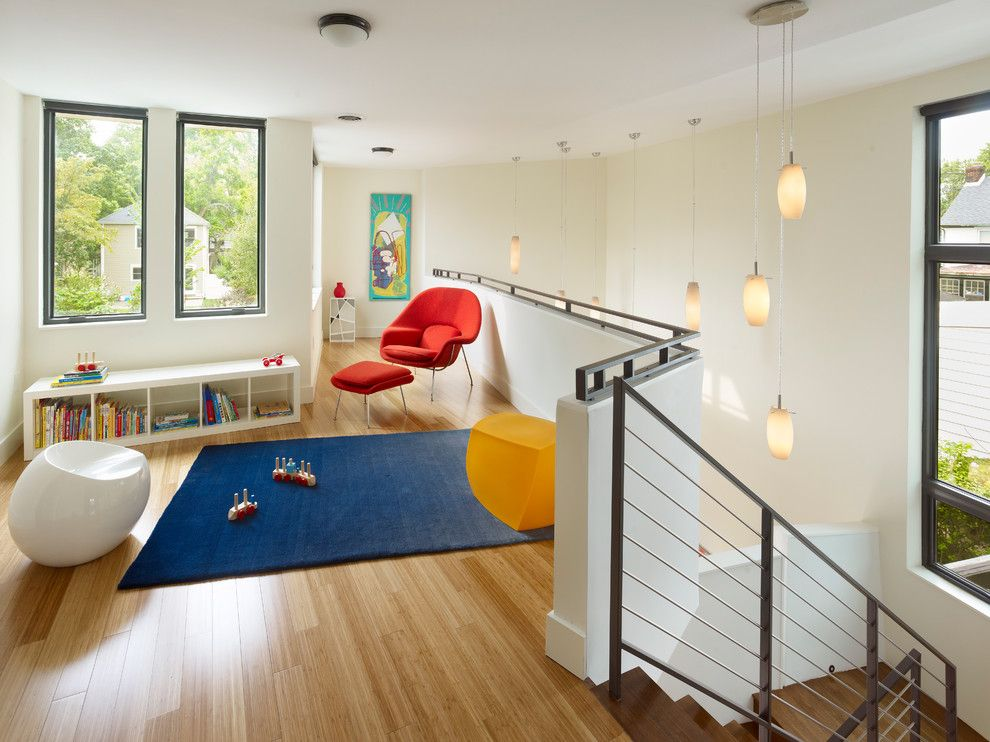 Fry Reglet for a Modern Kids with a Loft and Quarry Street House by Marina Rubina, Architect