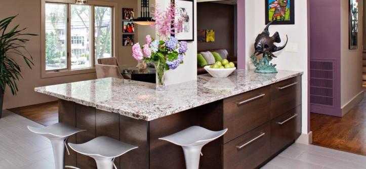 Fuda Tile for a Contemporary Kitchen with a Contemporary and Edgy Contemporary Kitchen by Creative Design Construction, Inc.