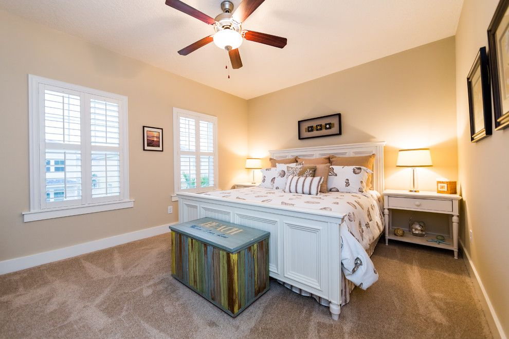 Furniture Mart Jacksonville Fl for a Beach Style Bedroom with a Beach and Dreambuilder 16:  a Beach Cottage in Jacksonville Beach, Fl by Dreambuilder Custom Homes