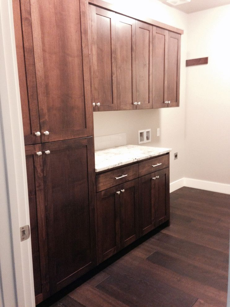 Furniture on Consignment Wichita Ks for a Contemporary Laundry Room with a Kitchen and Alta Vista Collection: Historic Oak, Photos From Wichita, KS Homeowner by Hallmark Floors