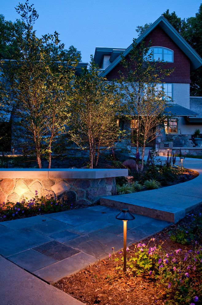 Fx Luminaire for a Craftsman Landscape with a Copper Light and Brookfield   Eclectic Craftsman by Ginkgo Leaf Studio
