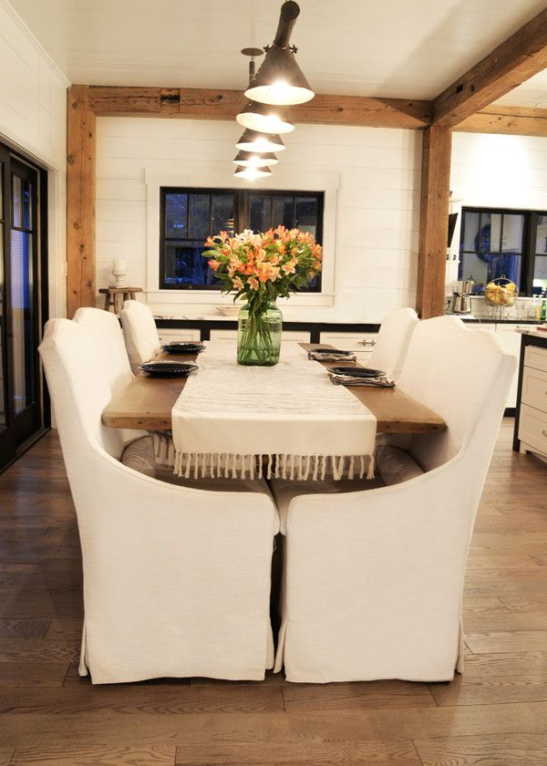 Gabberts Furniture for a Farmhouse Kitchen with a Pendant Chandelier and Lake Home by a Perfect Placement