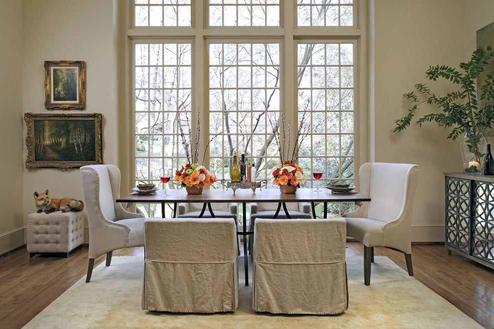Gabby Furniture for a Traditional Dining Room with a Dining Table and Gabby 6 Sophisticated: Transitional Dining Room by GABBY