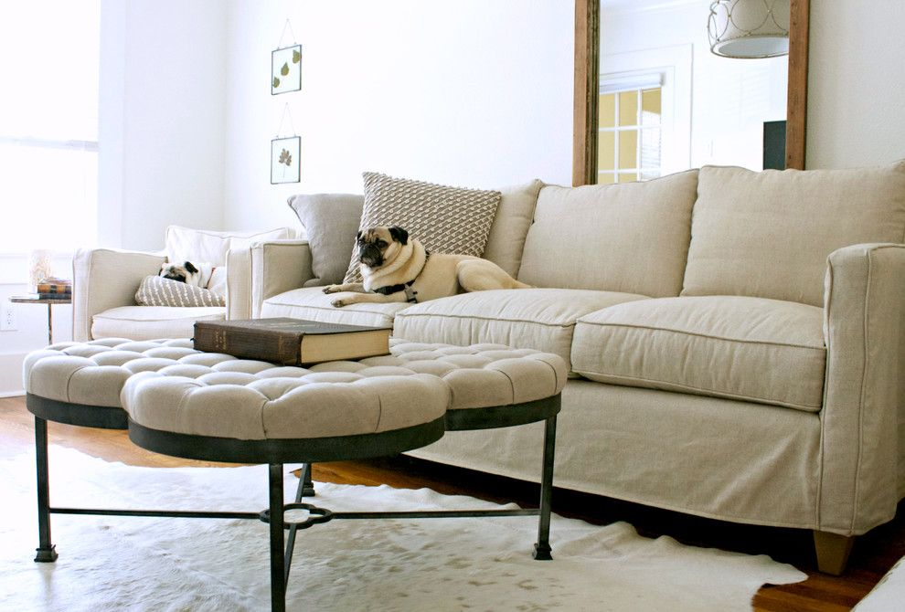 Gabby Furniture For A Transitional Living Room With My Houzz And Gagnon