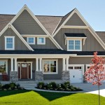 Gable Roof for a Traditional Exterior with a Rocking Chairs and 2014 Spring Parade of Homes by Hart's Design