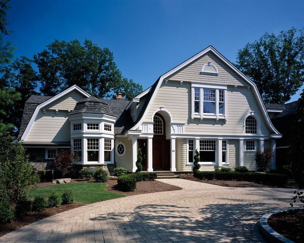 Gabled Roof for a Traditional Exterior with a Traditional and Saratoga Lake House by Wallant Architect