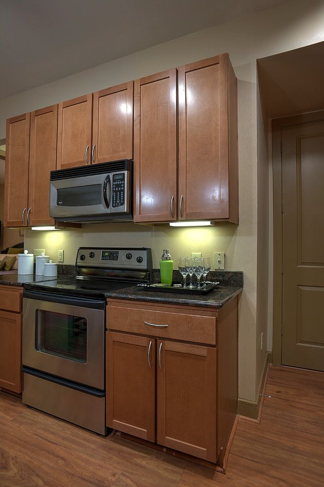 Gables Upper Kirby for a Traditional Kitchen with a Traditional and Gables Upper Kirby by Leedo Cabinetry