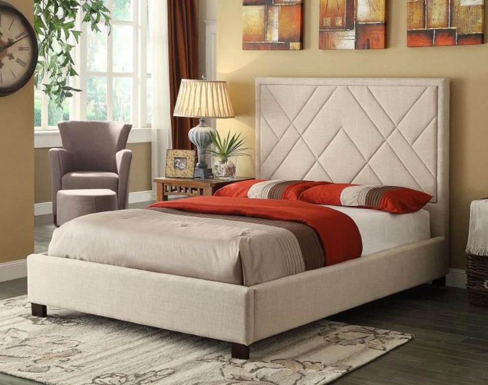 Galleria Furniture for a Contemporary Bedroom with a Bedroom and Fine Furniture by Galleria by Najarian Interiors