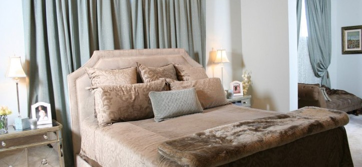 Galleria Furniture for a Contemporary Bedroom with a Bedside Table and Bedroom by Marker Girl Home