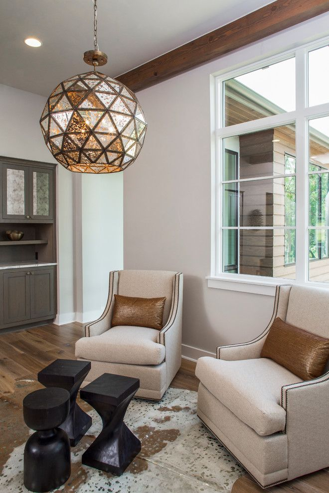 Galleria Furniture for a Transitional Family Room with a Copper Pillows and Luxury Home Magazine Parade of Homes by Kelle Contine Interior Design, Llc