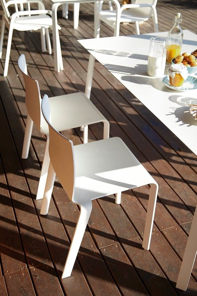 Gandia Blasco for a Modern Deck with a Modern Deck and Deck with Gandia Blasco Basic Chair by Up Interiors