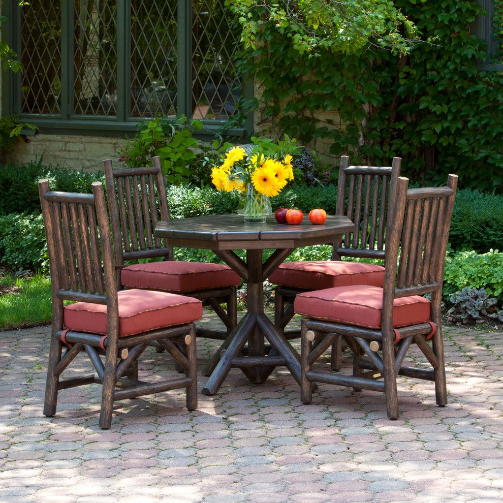 Garbett Homes for a Rustic Patio with a Rustic Style and La Lune Collection by La Lune Collection