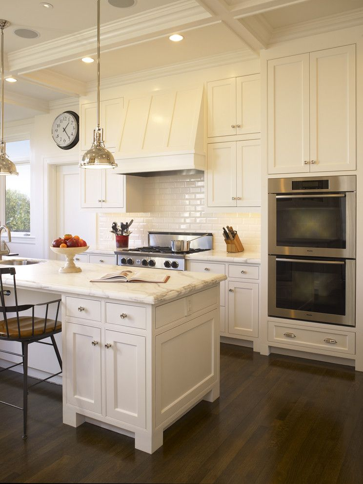 Gardner White Clearance for a Traditional Kitchen with a Traditional and Buena Vista Residence   Think White with a Touch of Color by Gast Architects