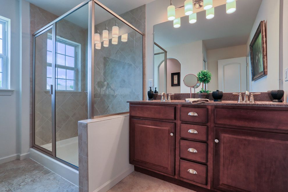 Garman Builders for a Traditional Bathroom with a Master Suite and 114 Summerlyn Drive by Garman Builders Inc.
