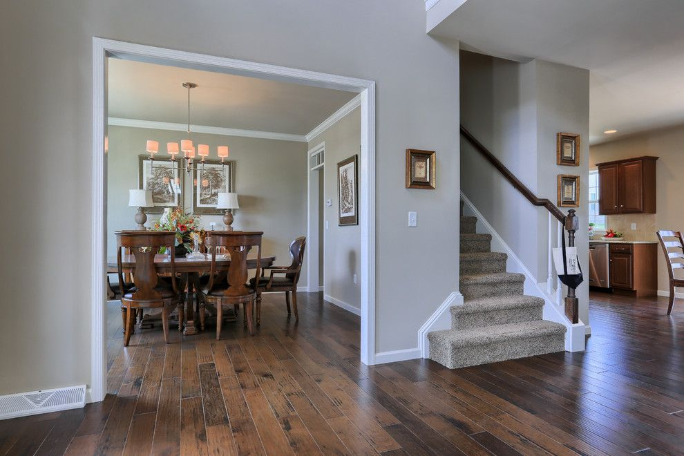Garman Builders for a Traditional Dining Room with a Entry and 114 Summerlyn Drive by Garman Builders Inc.