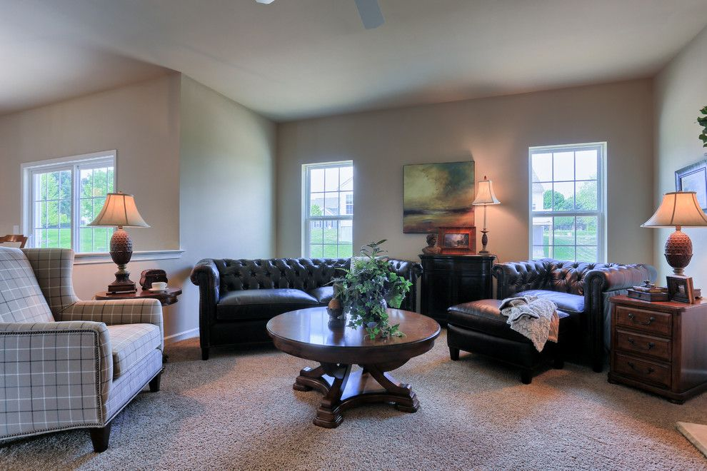 Garman Builders for a Traditional Family Room with a Traditional and 114 Summerlyn Drive by Garman Builders Inc.
