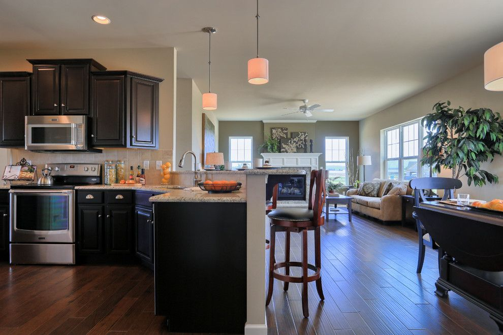 Garman Builders for a Traditional Kitchen with a Kitchen and 607 Kiera Lane by Garman Builders Inc.