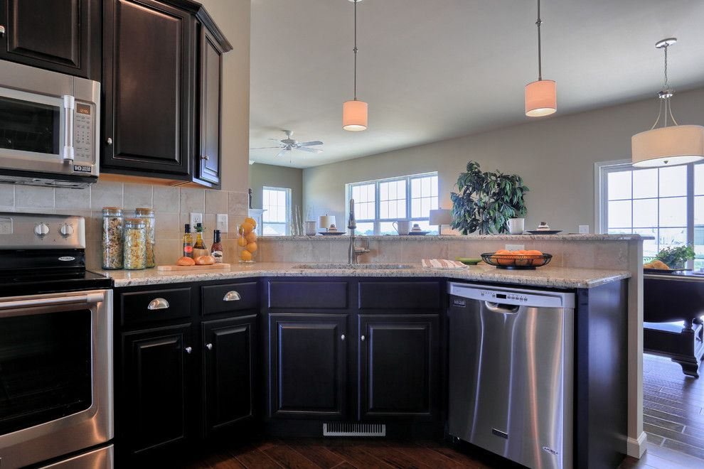 Garman Builders for a Traditional Kitchen with a Traditional and 607 Kiera Lane by Garman Builders Inc.