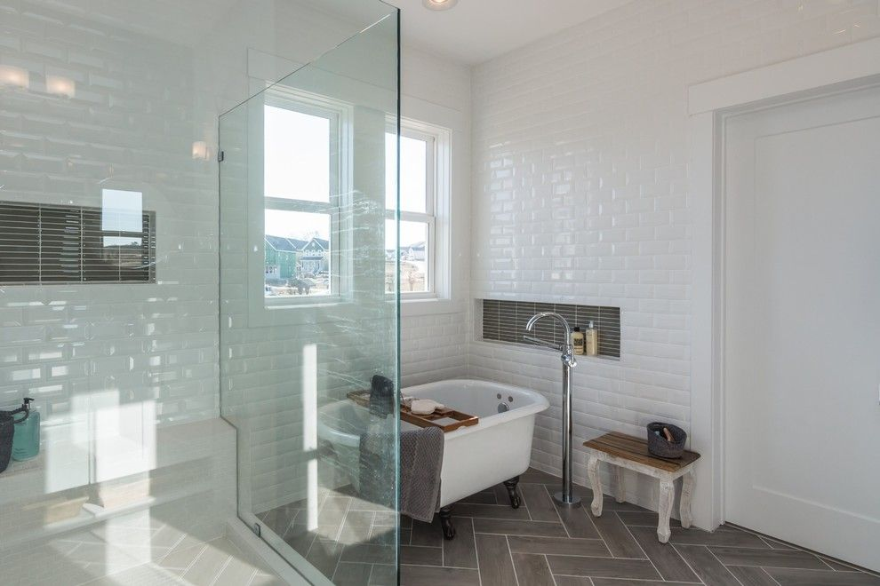 Garman Homes for a Transitional Bathroom with a Lighting and Garman Homes - Briar Chapel Model - the Overachiever by Garman Homes