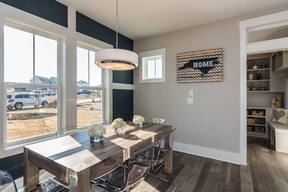 Garman Homes for a Transitional Dining Room with a Bedroom and Garman Homes   Briar Chapel Model   the Overachiever by Garman Homes