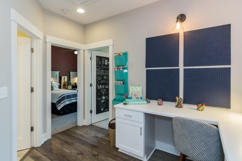 Garman Homes for a Transitional Kids with a Interior Trim and Garman Homes   Briar Chapel Model   the Overachiever by Garman Homes