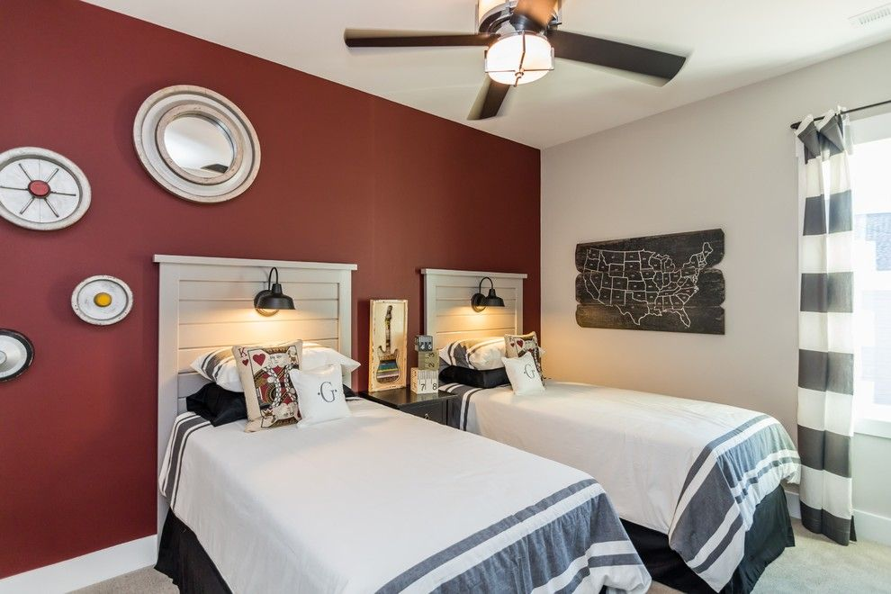 Garman Homes for a Transitional Kids with a Paint and Garman Homes   Briar Chapel Model   the Overachiever by Garman Homes