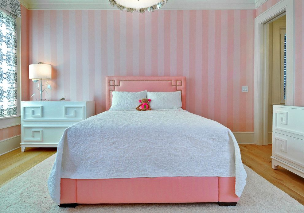 Gdc Home for a Transitional Kids with a Pink Bed and Sami Rudisill by William Quarles Photography