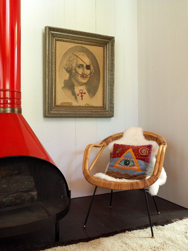 George Washington Toma for a Eclectic Living Room with a Eclectic and 100 Ways to Happy Chic Your Life by Jonathan Adler by Sterling Publishing