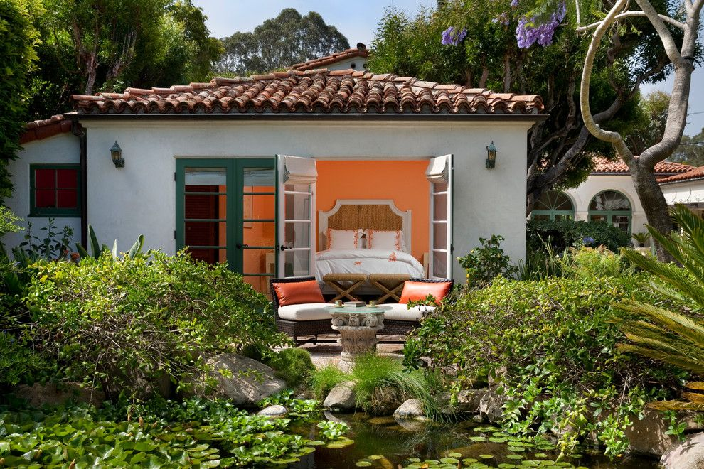 George Washington Toma for a Mediterranean Exterior with a Historic Preservation and Montecito, George Washington Smiths Design Studio by Margie Grace   Grace Design Associates
