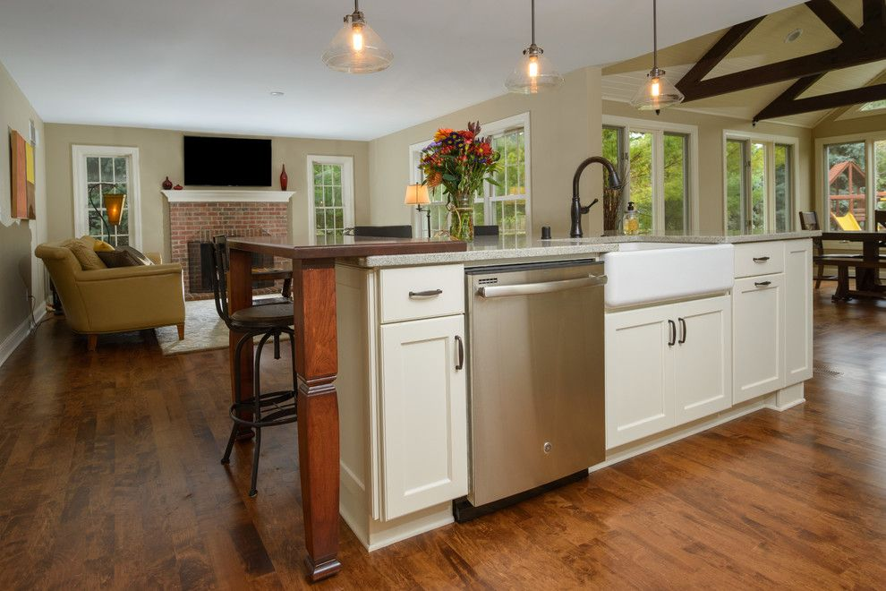 Gerhards Appliances for a Contemporary Kitchen with a Contemporary Kitchen and Delafield First Floor Renovation by Gmh Construction