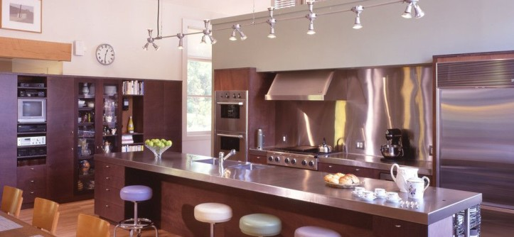 Get Rid of Fruit Flies for a Contemporary Kitchen with a Counter Top and Hayden Lane Residence, Bucks County, PA by Billinkoff Architecture PLLC
