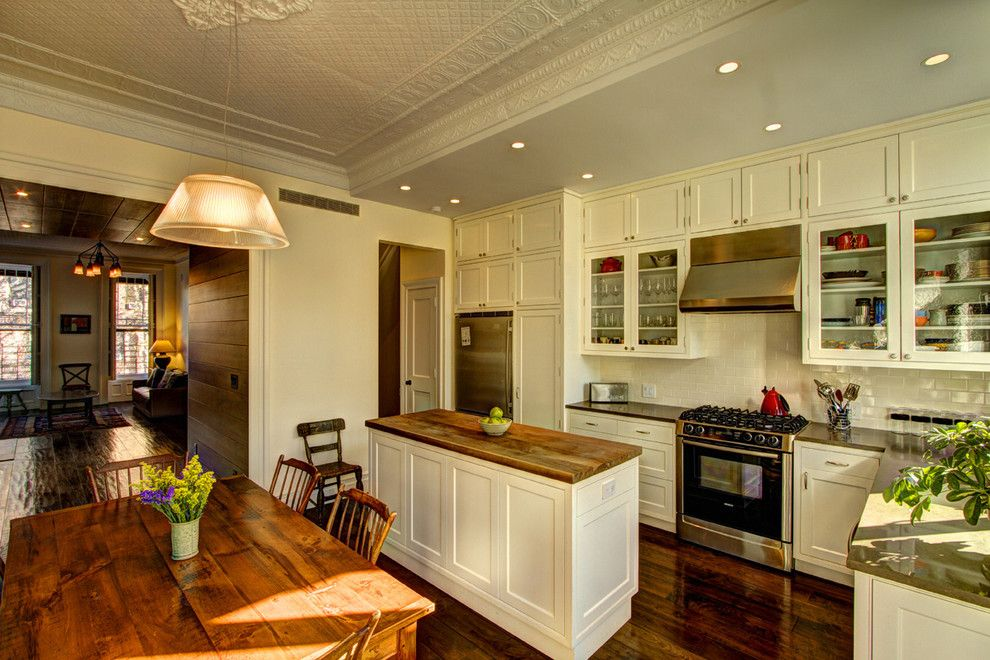 Get Rid of Fruit Flies for a Victorian Kitchen with a Stainless Steel and Park Slope Brownstone by Ben Herzog