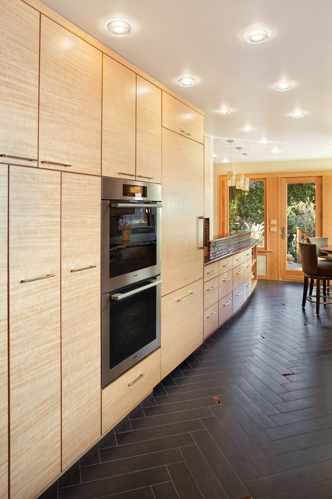 Getting Rid of Mosquitoes for a Contemporary Kitchen with a Grey Floor and Grant Park Kitchen Remodel by Giulietti Schouten Architects