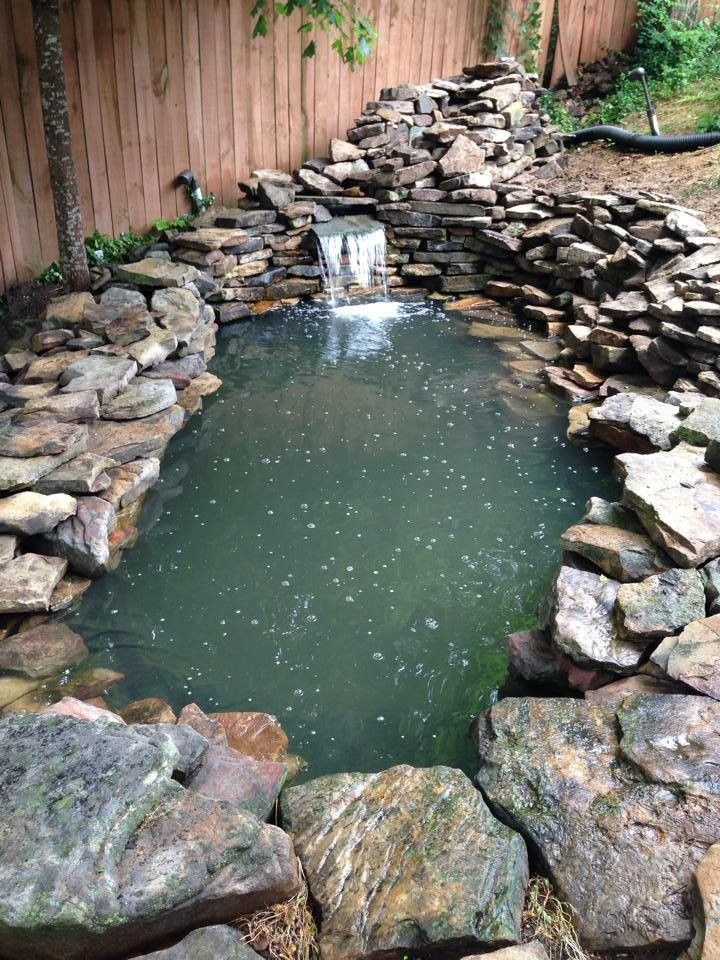 Gibbs Landscaping for a  Landscape with a Pond and Hardscapes & Water Features by Gibbs Landscaping & Lawn Care