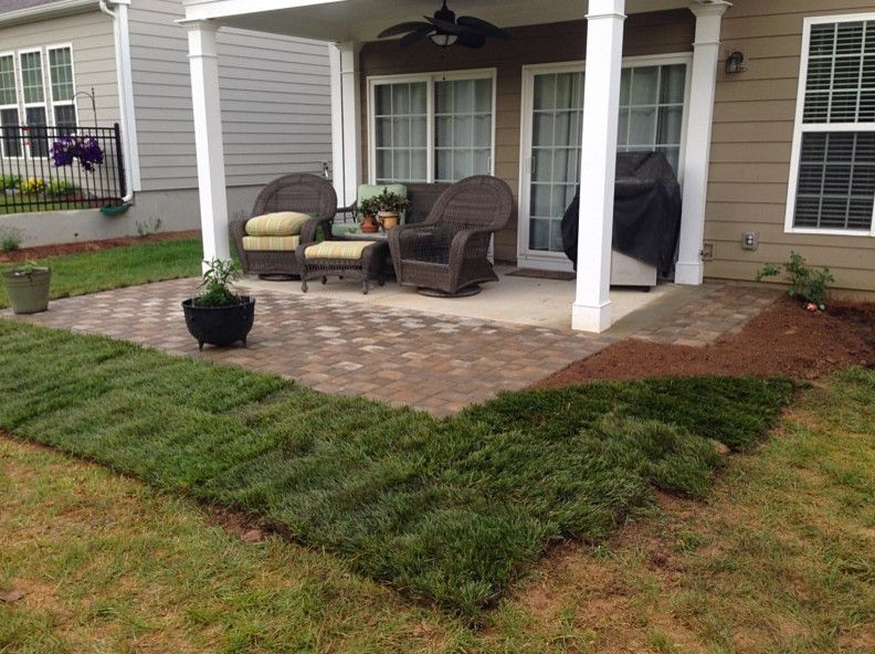 Gibbs Landscaping for a  Patio with a Pavers and Paverstone Patio by Gibbs Landscaping & Lawn Care