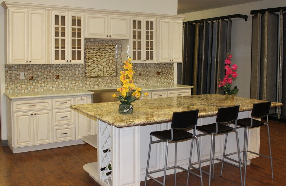 Glazing Cabinets for a Traditional Kitchen with a Antique White Glazed Maple Cabinets and 3d Model Antique White Glazed Maple Cabinets by Glenn Rogers Cabinet Broker