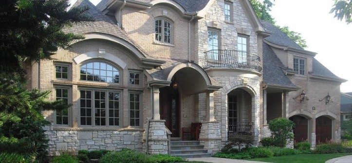 Glen Gery Brick for a Traditional Exterior with a Traditional and Clarendon Hills by ArcCreative Ltd.