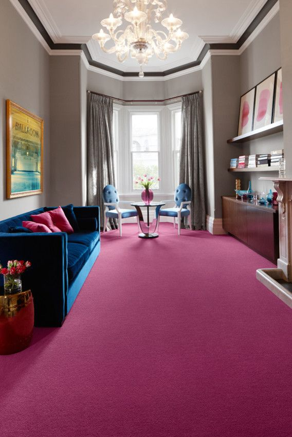 Godfrey Hirst for a Contemporary Living Room with a Side Table and Carpet Colours by Godfrey Hirst