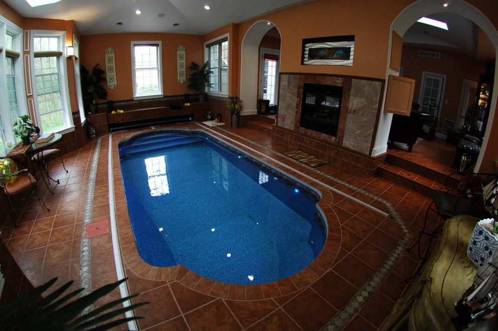 Goodall Pools for a Eclectic Pool with a Indoor Pool and Indoor Pool by Goodall Pools & Spas